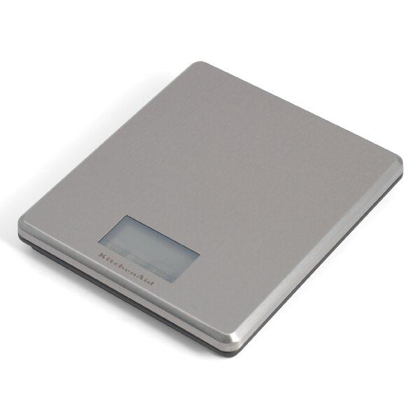 Gourmet Stainless Steel Electronic Scale by KitchenAid