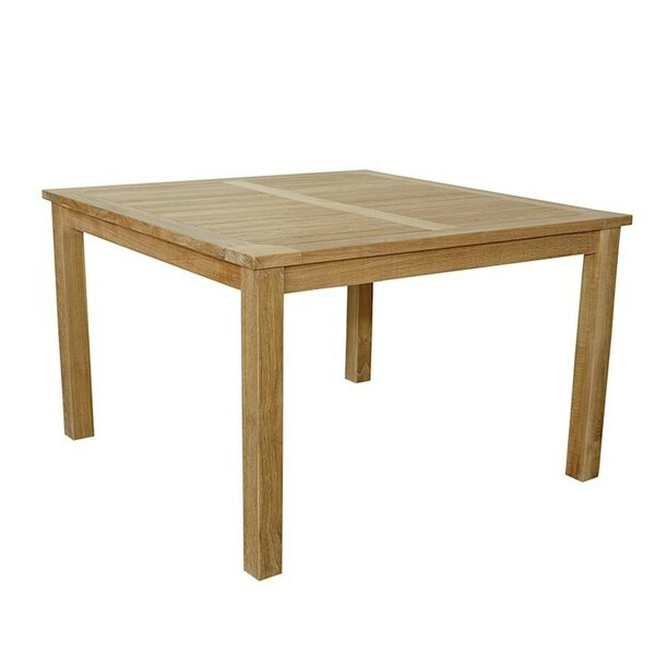 Bourassa Solid Wood Dining Table by Freeport Park