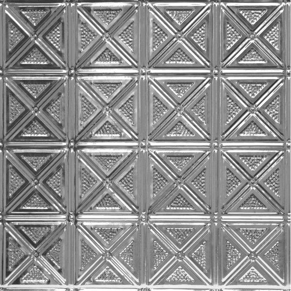 23.75 x 23.75 Unfinished Metal Tile in Steel by Shanko