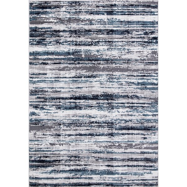 Mccollough Beautifully Vintage Blue/Gray Area Rug by Williston Forge