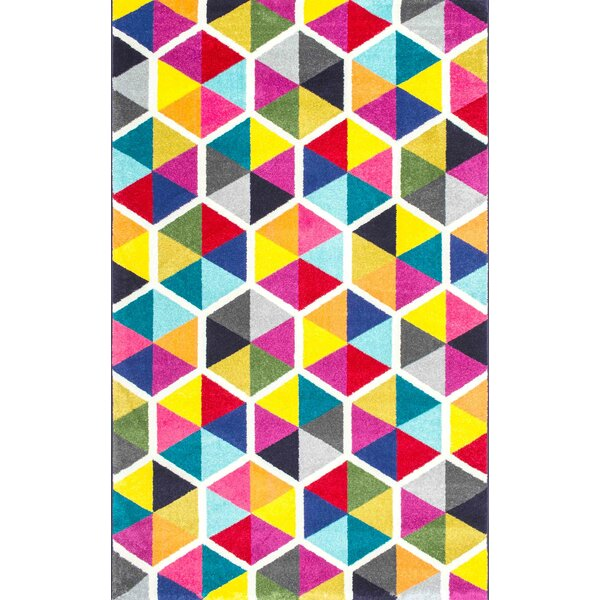 Maureen Pink/Blue Area Rug by Latitude Run