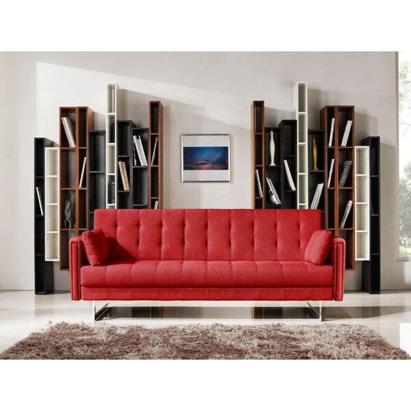 Manatuto Wood Frame Sleeper Sofa by Orren Ellis