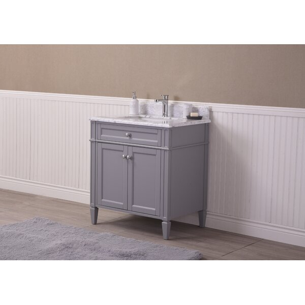 Freeland 30 Single Bathroom Vanity Set by Charlton Home