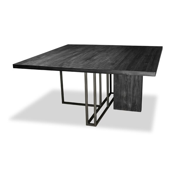 Macdougal Solid Wood Dining Table by Ivy Bronx Ivy Bronx