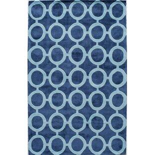 Hand Tufted Royal Blue Area Rug