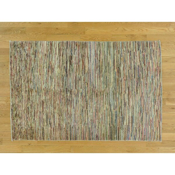 One-of-a-Kind Becker Hand-Knotted Wool Area Rug by Isabelline
