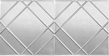 Generic 2 ft. x 4 ft. Tin-plated Steel Tile by Che
