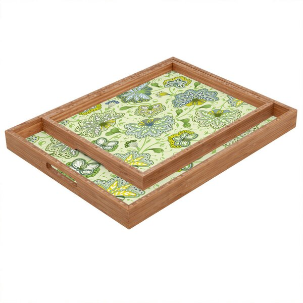 Colors Of The Wind Tray by East Urban Home