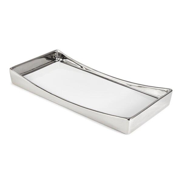Delancey Bathroom Accessory Tray by Kassatex Fine Linens