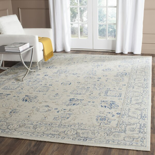 Dampierre Gray Area Rug by Lark Manor