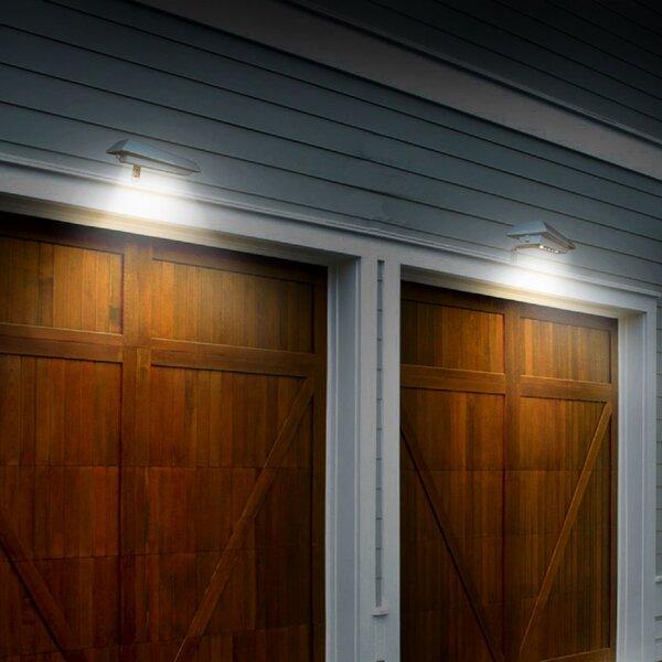 Solar Rectangular LED Flood Light ( Set of 2) (Set of 2) by Touch of ECO