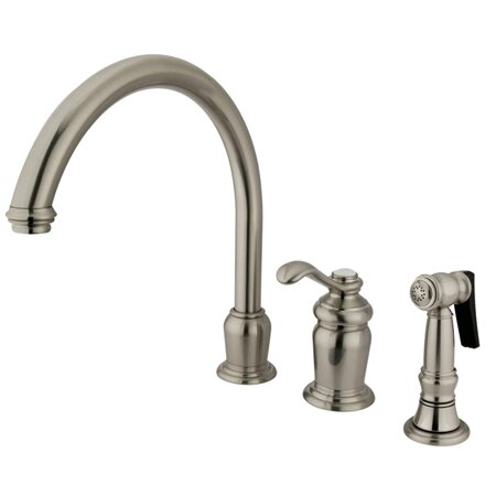Templeton Single Handle Kitchen Faucet by Kingston Brass