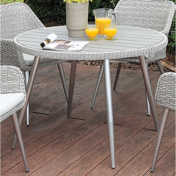 Ritz Metal Dining Table by Gracie Oaks