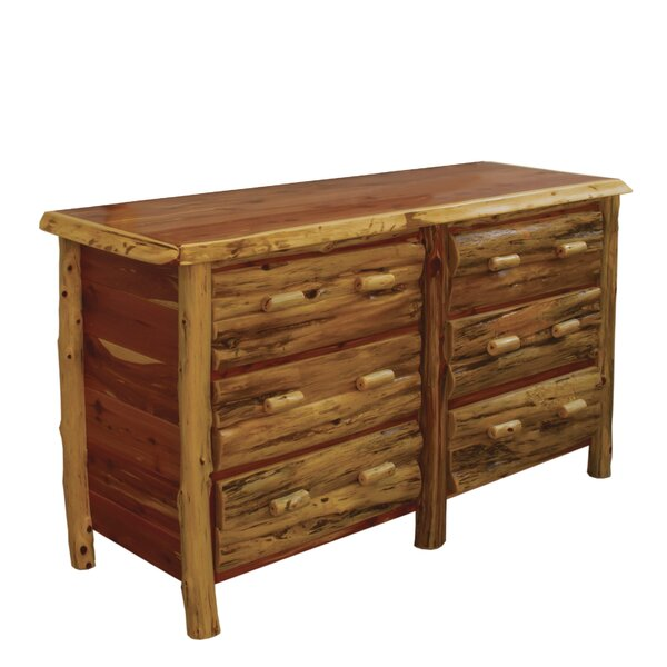 Detroit 6 Drawer Double Dresser By Loon Peak by Loon Peak Purchase