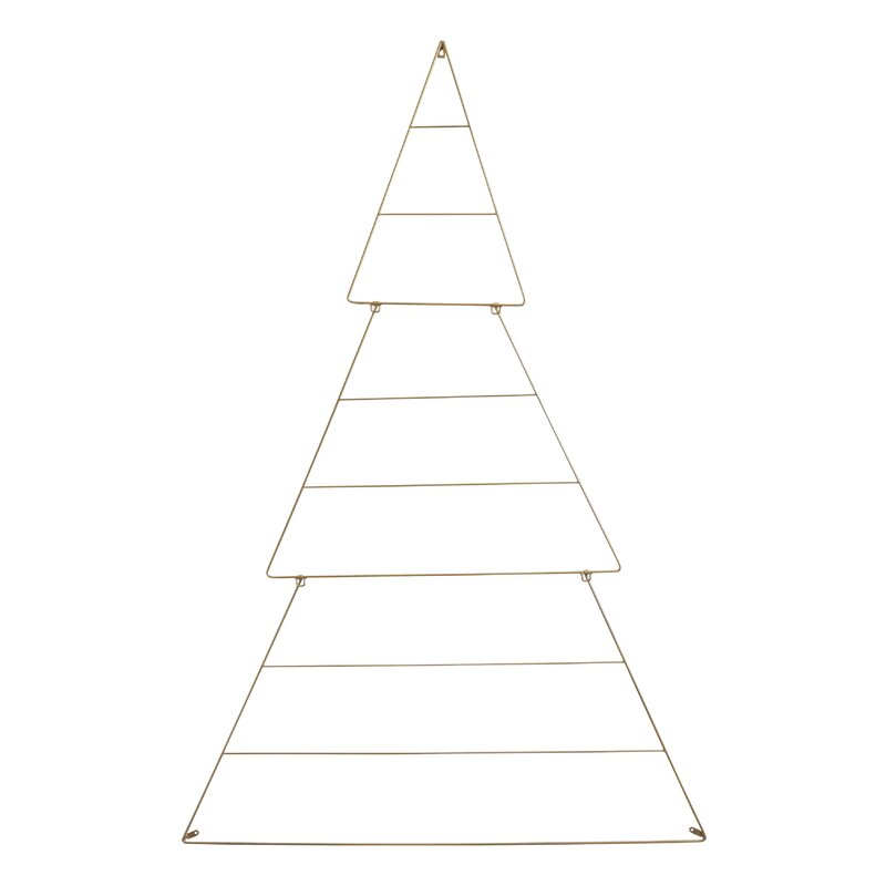 The Holiday Aisle Metal Wire Tree Wall Décor | Wayfair