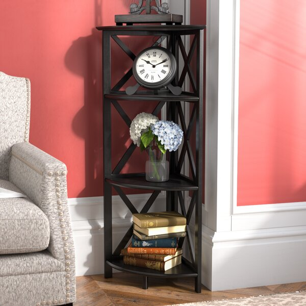 Thelen Corner Bookcase by Charlton Home