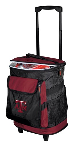 Collegiate Rolling Cooler - Texas A and M by Logo Brands