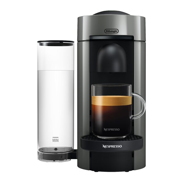 DeLonghi Nespresso Vertuo Plus Coffee and Espresso Single-Serve Machine by Nespresso