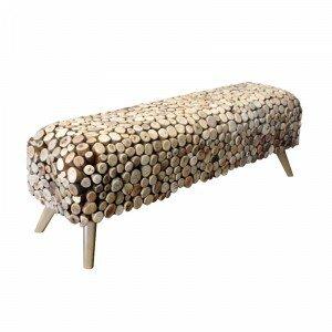 Pebble Wood Bench by Bellini Modern Living Bellini Modern Living