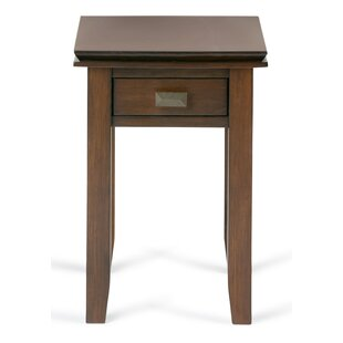Find a Artisan Narrow End Table with Storage By Simpli Home