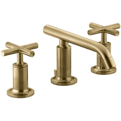 Kohler Sink Faucet Low Moderne Brushed Gold Faucets