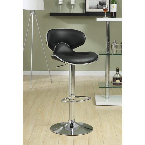 Adjustable Height Swivel Bar Stool (Set of 2) by Wildon Home®