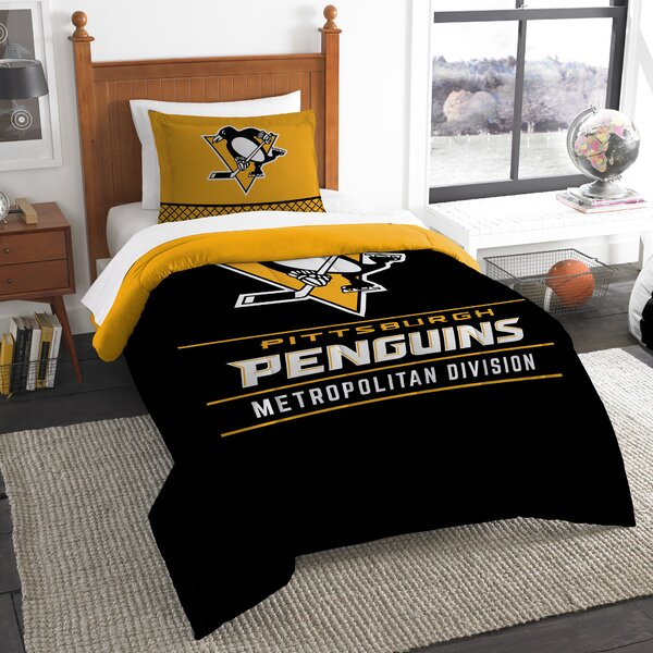 Nhl Draft 2 Piece Twin Comforter Set By Northwest Co..