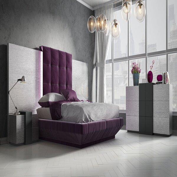 Helotes King Upholstered Standard Bed by Orren Ellis