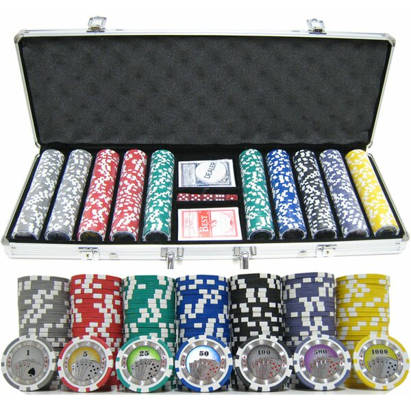 500 Piece Casino Royale Clay Poker Chip by JP Commerce