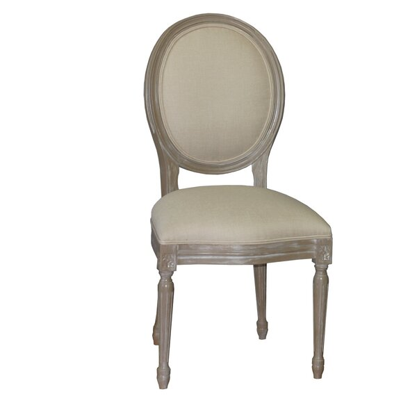 Leonora Upholstered Dining Chair by One Allium Way One Allium Way