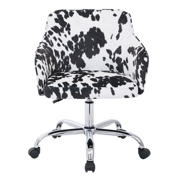 Althea Low-Back Desk Chair by Ave Six