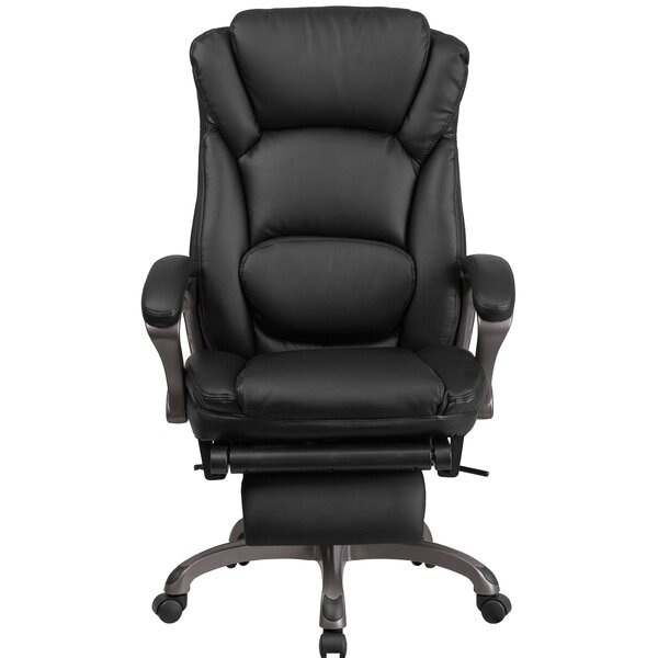 Yelverton Reclining Swivel Office High-Back Executive Chair by Symple Stuff