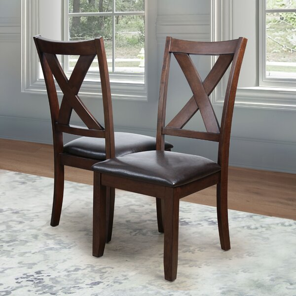 Pettry Upholstered Dining Chair (Set of 4) by Alcott Hill Alcott Hill