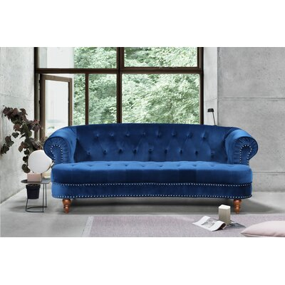 wonderful royal blue living room sofa | Teal Blue Sofas | Wayfair.ca