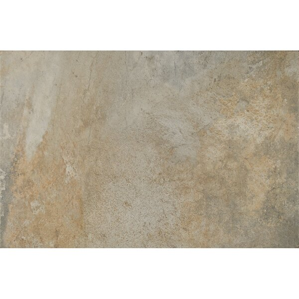 Rome Textured Ink Jet 13 x 20 Porcelain Tile in Taupe by Grayson Martin