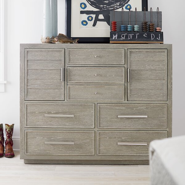 Rimini 6 Drawer Combo Dresser by Gracie Oaks