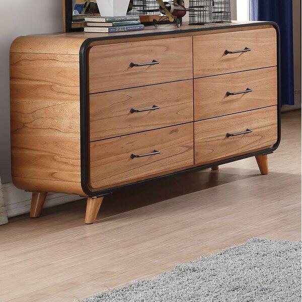 Carnamaddy 6 Drawer Double Dresser by Harriet Bee Harriet Bee