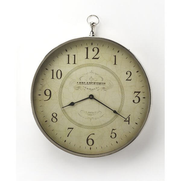 Round 20 Le Blanc Wall Clock by Darby Home Co| @ $209.00