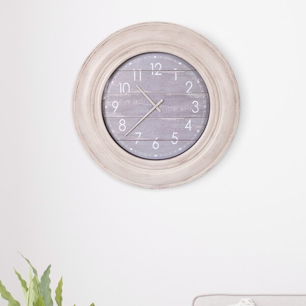 Oversized Ganado 30 Wall Clock by Ophelia & Co.