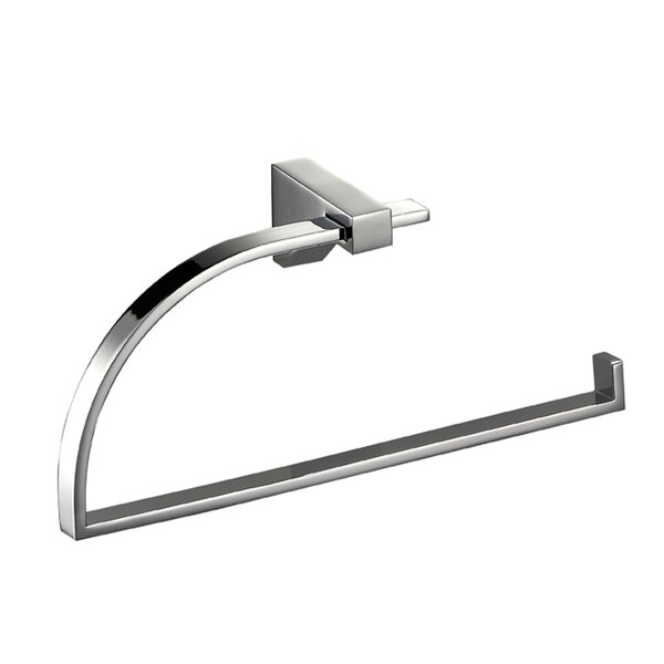 Cristal Wall Mounted Holder Towel Ring by Hispania Home