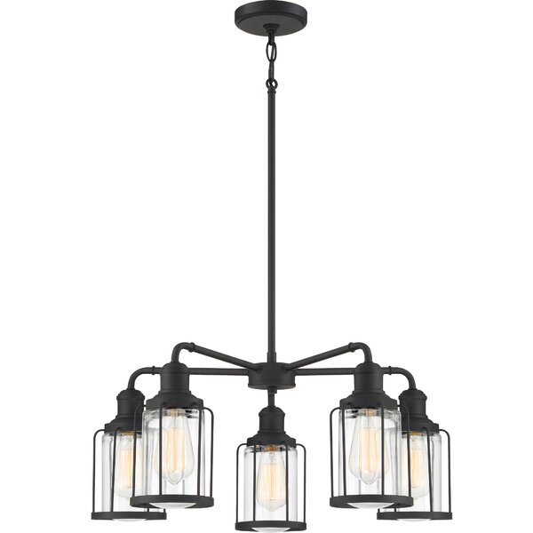 Bedell 5 - Light Shaded Classic / Traditional Chandelier By Breakwater Bay