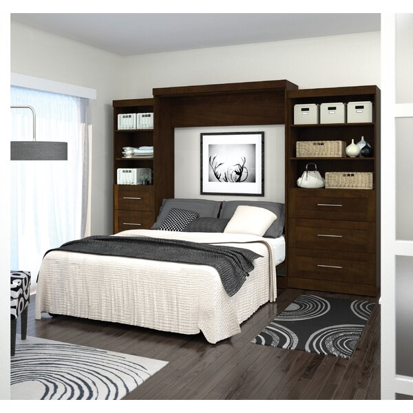 Gigi Storage Murphy Bed by Beachcrest Home