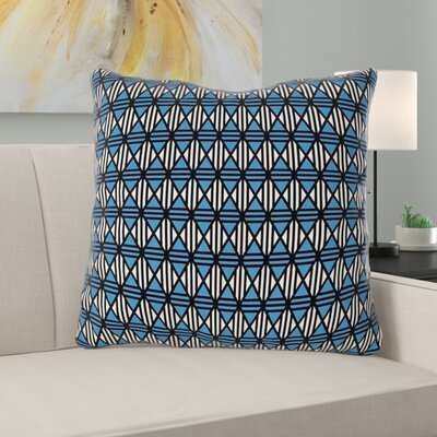 Latitude Run Avicia Geometric Throw Pillow Latitude Run Size 40 X 40 Color Black Blue Dailymail