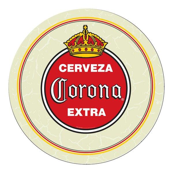 Corona Vintage Swivel Bar Stool by Trademark Global