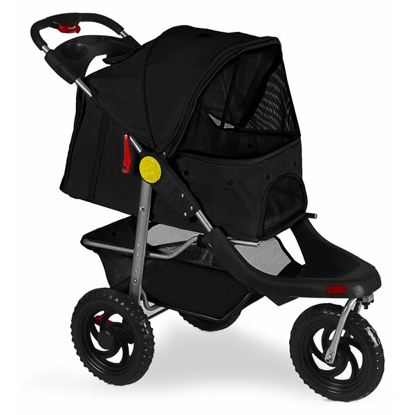 Foldable Jogger Pet Stroller by OxGord