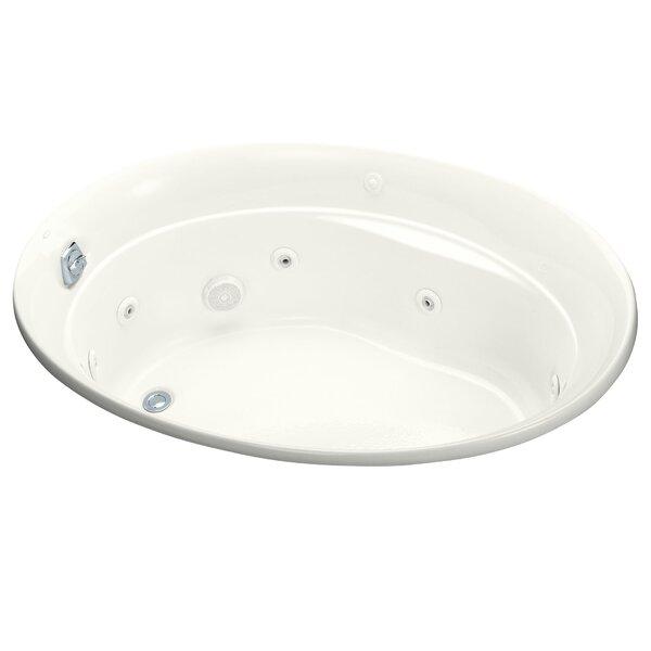 Serif 60 x 43 Whirlpool Bathtub by Kohler