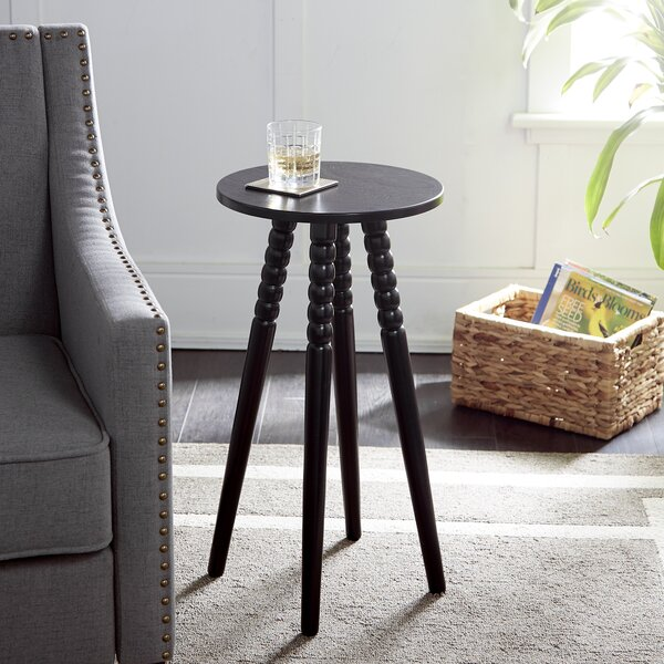 Wetherby Round End Table by Gracie Oaks