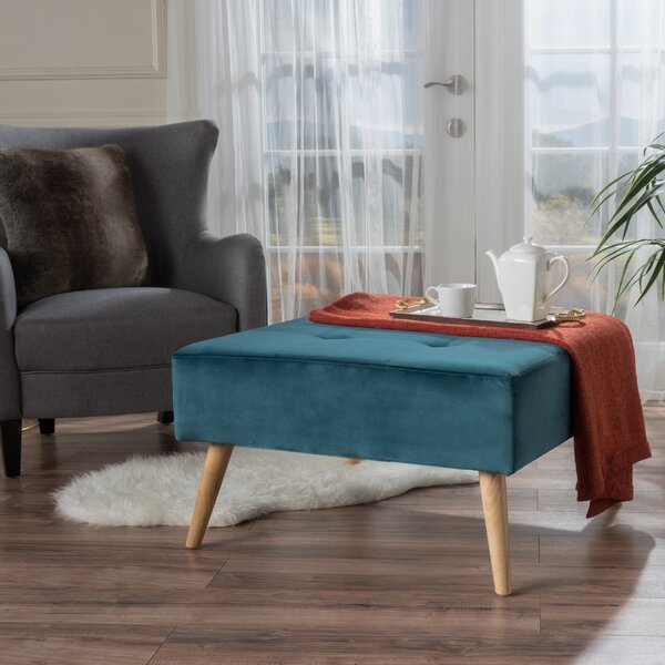 Geir Cocktail Ottoman by Langley Street