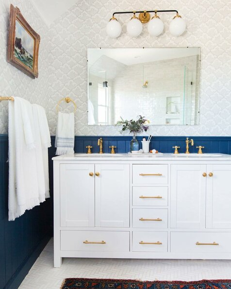 Em_henderson Eclectic Bathroom Design
