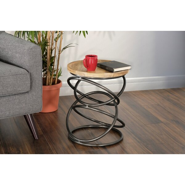 Kirree End Table by Union Rustic